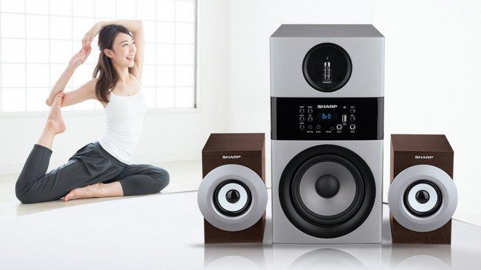 Sasar Penikmat Musik Premium, Sharp Luncurkan Active Speaker Kualitas Suara High Definition