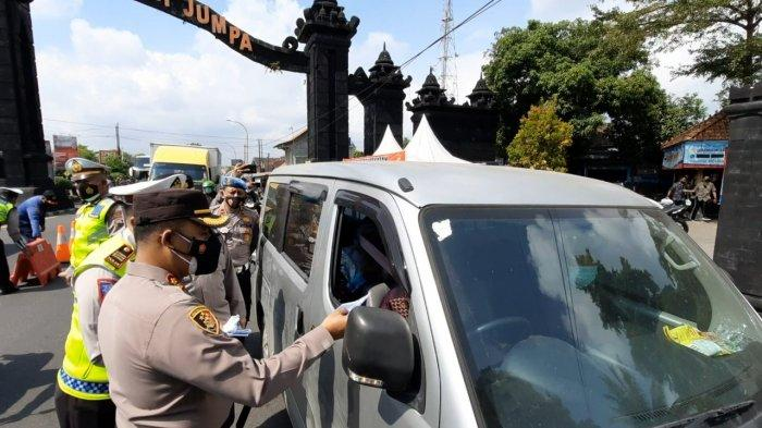 Petugas Kembali Gelar Operasi Penyekatan di Tugu Ireng Kabupaten Magelang