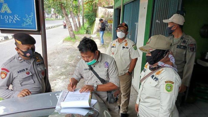 Gelar Operasi Pekat, Satpol PP Bantul Temukan Kapster Berpakaian Seksi dan Pasangan Tidak Resmi
