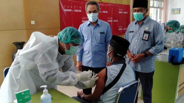 Sebanyak 200 Calon Jemaah Haji di Bantul Mulai Jalani Vaksinasi Covid-19 Hari Ini