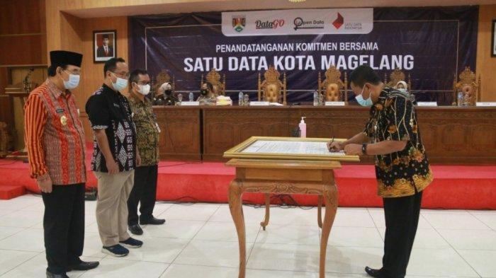 Sebanyak 60 Instasi di Pemkot Magelang Integrasikan Pendataan dalam Program Satu Data Indonesia