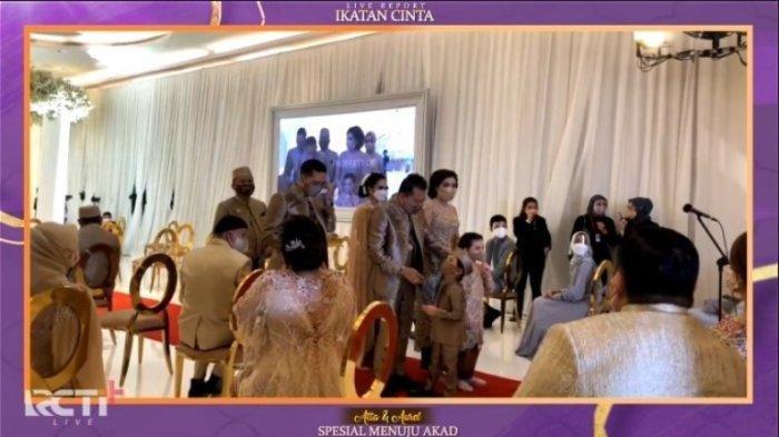 SEDANG BERLANGSUNG Live Streaming Pernikahan Aurel dan Atta di RCTI, Presiden Jokowi jadi Saksi