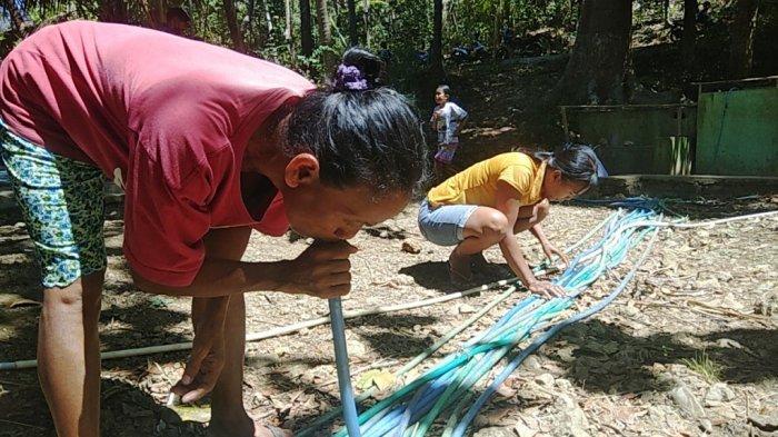 Musim Kemarau,Puluhan Keluarga di Kalidadap 1 Bantul Kesulitan Air Bersih