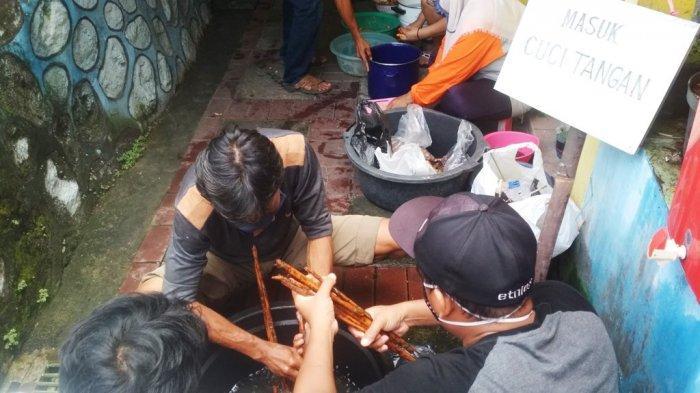 Upaya Warga Kampung Jagalan Swadaya Mencegah Virus Corona