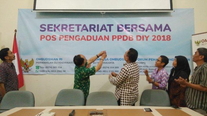 ORI DIY Resmikan Sekber Pos Pengaduan PPDB