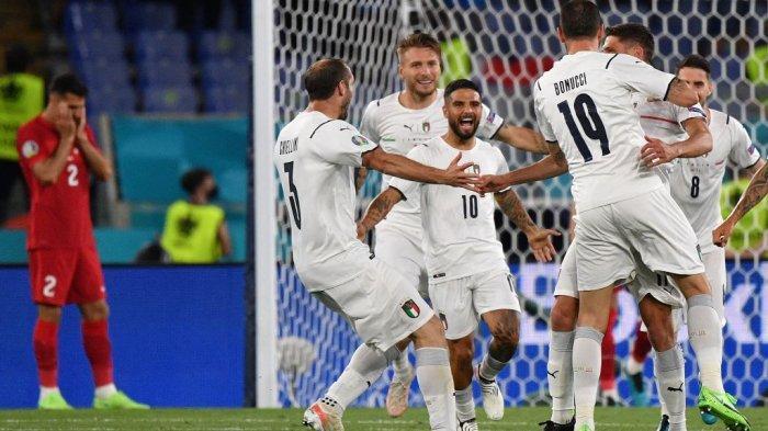 ITALIA 3-0 TURKI: Rating Chiellini, Barella, Spinazzola, Jorginho, Berardi, Immobile & Insigne