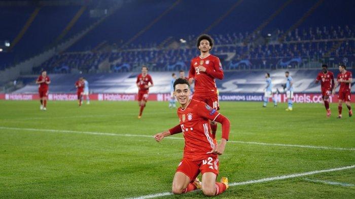 Cetak Gol untuk Bayern Munchen, Jamal Musiala Pencetak Gol Termuda Inggris di Liga Champions