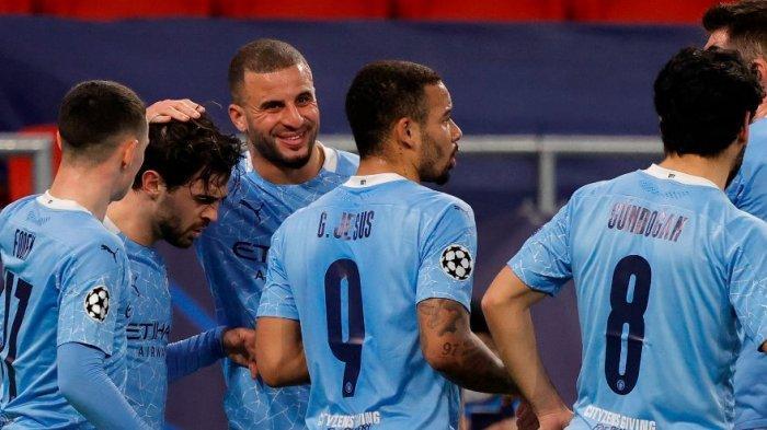 Monchengladbach 0-2 Man City : Rating Bernardo Silva, Joao Cancelo dan Sterling