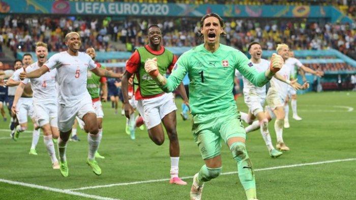 Sejarah Baru Euro 2020, Swiss Lolos ke Perempat Final Euro 2020 Kalahkan Prancis