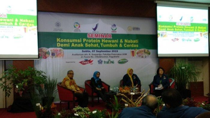 Fakultas Peternakan UGM Gelar Seminar Tumbuh Kembang Anak