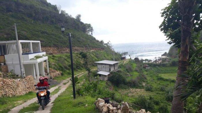 Sempat Diportal Akses Masuk Ke Pantai Seruni Sudah Kembali Dibuka Untuk Umum Tribun Jogja