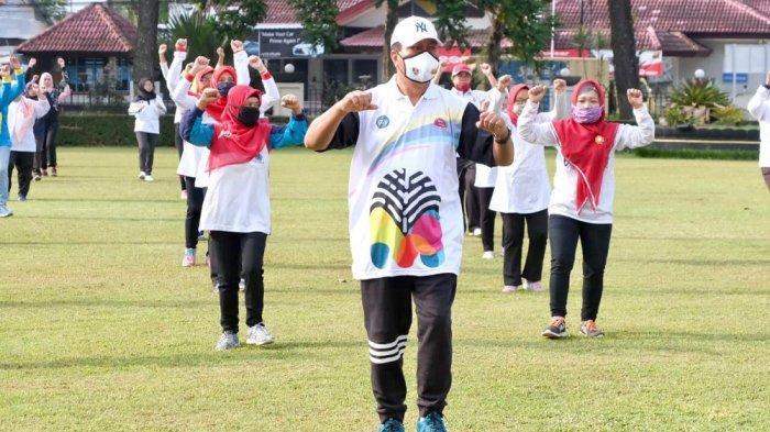 Senam Sajojo Meriahkan Hari Kontrasepsi Sedunia di Kota Magelang