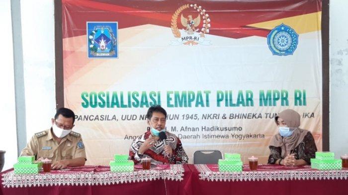 Senator DIY Sosialisasikan Empat Pilar Kebangsaan ke Kalangan Ibu-ibu PKK di Sleman
