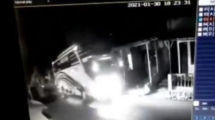 Senggol Bus dan Truk, Pemotor Tewas di Mungkid Magelang