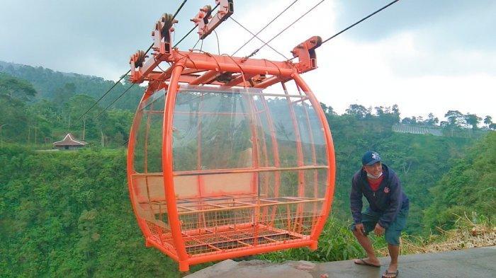 Begini Penampakan Gondola Wisata di Lereng Gunung Merapi Klaten, Bisa Angkut Beban hingga 17 Ton