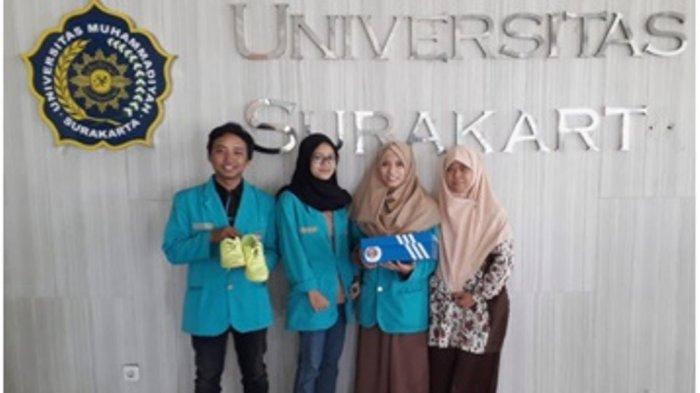Sepatu Canggih Karya Mahasiswa UMSBisa LacakKorban Penculikan dan Orang Hilang