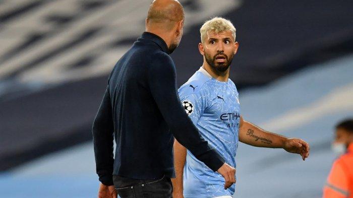 MAN CITY: Pengakuan Guardiola soal Kepergian Aguero & Sesumbar Penerus Kun Aguero