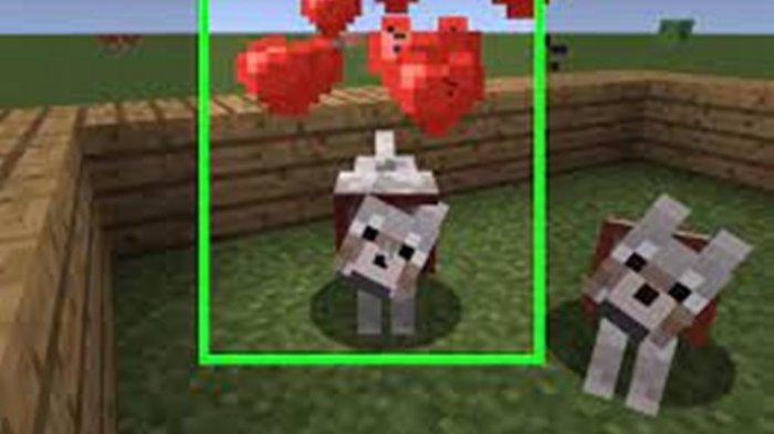 Serigala Minecraft