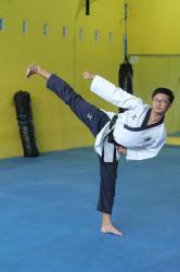 Hijrah dari Sepak Bola ke Tae Kwon Do