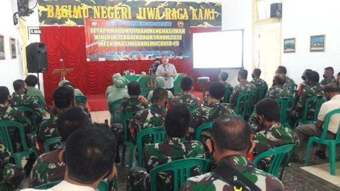 Aqua Dwipayana Sharing dengan TNI, Polri dan Wartawan, Semua Antusias