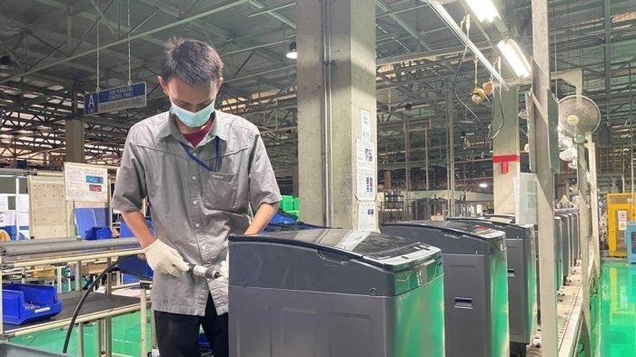 Sharp Indonesia Capai Produksi Mesin Cuci ke-10 Juta di Tengah Masa Pandemi