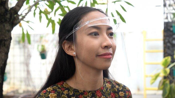 Sharp Indonesia Luncurkan Face Shield Premium di Masa PPKM
