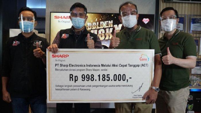 Tingkatkan Kesejahteraan Petani, Sharp Indonesia Luncurkan Program Sharp Mapan