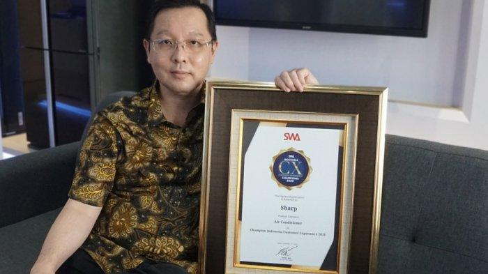 Sharp Indonesia Raih Indonesia Customer Experience Awards 2020