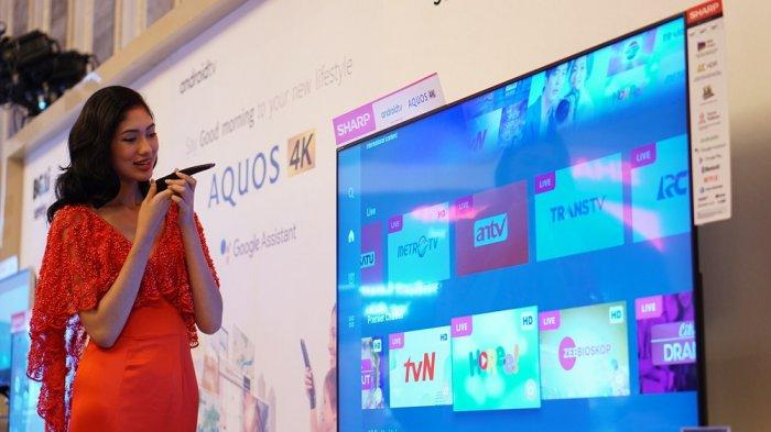Sharp Indonesia Luncurkan TV dengan Google Assistant