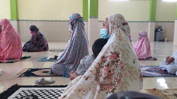 Masjid Muslimat di Krapyak Kulon Bantul Gelar Sholat Idul Fitri, Prokes Ketat