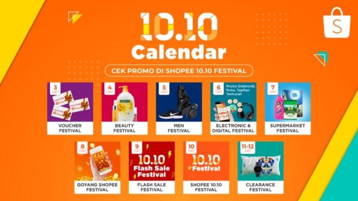 Shopee Kembali Hadirkan Festival Diskon 10 Hari Di Shopee 10 10 Festival Tribun Jogja