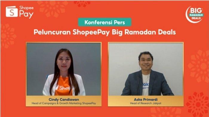 ShopeePay Big Ramadan Deals, Promo Deals Rp1 Hingga Kirim THR Gratis Ribuan Emas
