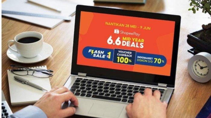 ShopeePay Hadirkan Kampanye 6.6 Mid Year Deals, Ada Cashback 100% Hingga Flash Sale Rp1