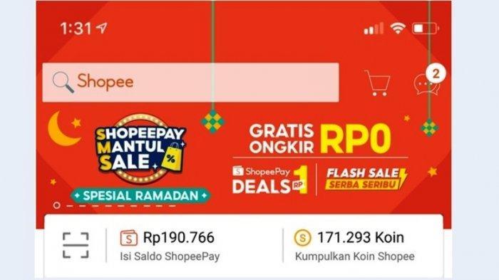 ShopeePay Mantul Sale Menggebrak dengan Promo Rp1 hingga Gratis Ongkir
