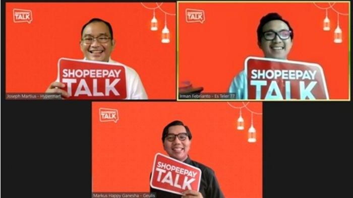 Di bulan April menghadirkan ShopeePay Talk edisi spesial Ramadan dengan tema 'Tangkap Peluang Ramadan, Raih Kemenangan'