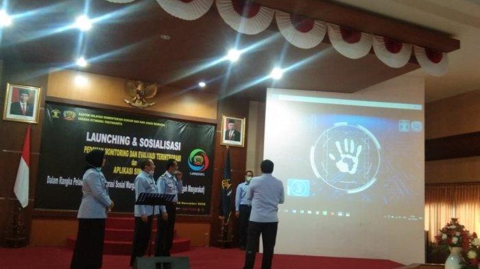 Kanwil Kemenkumham DI Yogyakarta Hadirkan Aplikasi SI MONAS Pantau Napi Asimilasi