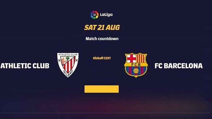 Siaran Langsung Athletic Bilbao vs Barcelona Pekan2 Liga Spanyol Malam Ini Tayang di Channel Tv Apa
