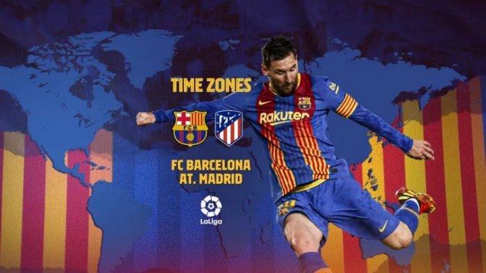 LINK Streaming Liga Spanyol Barceloa Vs Atletico Madrid Malam Ini: Siapa Lebih Pantas Jadi Juara?