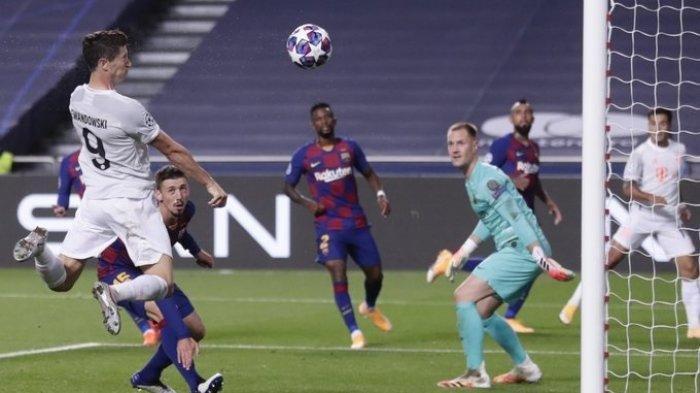 Siaran Langsung Barcelona vs Bayern Munchen Fase Grup Liga Champions Tayang di Channel TV SCTV