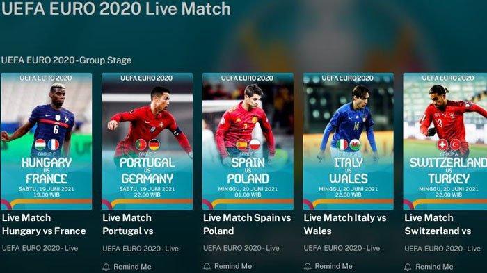 Jam Tayang Siaran Langsung Hungaria vs Prancis via Streaming TV Online Mola TV