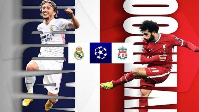 Real Madrid vs Liverpool, Liga Champions
