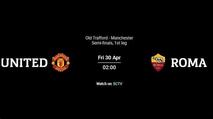 Manchester United vs AS Roma, Liga Eropa