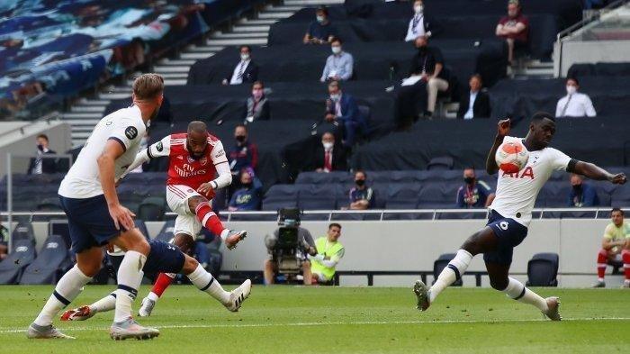 Siaran Langsung Liga Inggris ARSENAL vs TOTTENHAM - Line Up: Aubameyang di Bench, Harry Kane Starter