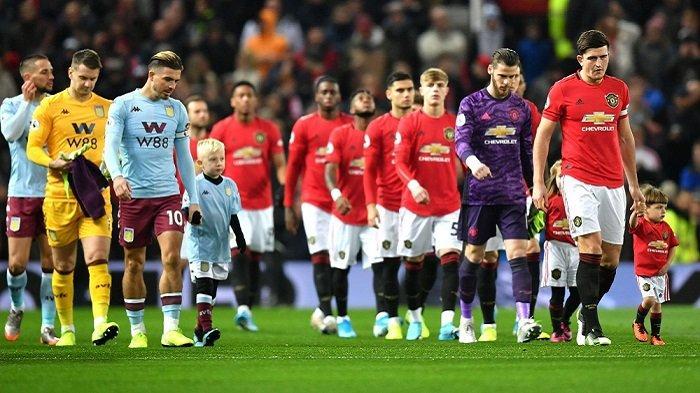 Live Streaming TV Siaran Langsung ASTON VILLA vs MAN UNITED (MU) Liga Inggris Malam Ini