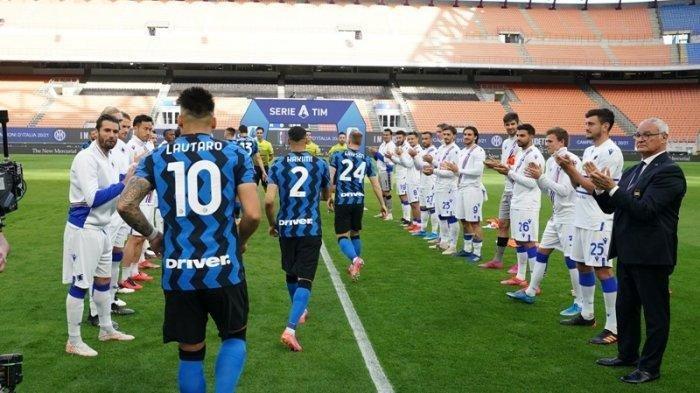 Siaran Langsung RCTI Live Streaming BeIN SPORTS 2 Liga Italia SAMPDORIA vs INTER MILAN