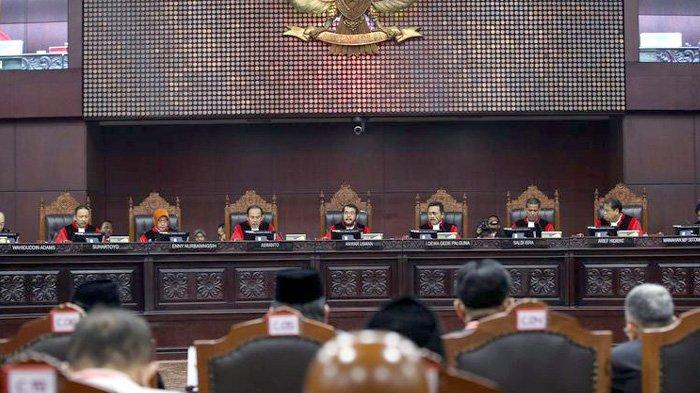 Sidang MK Diskor, Belum Ada Dalil BPN Prabowo yang Diterima Hakim Konstitusi