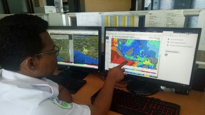 INFO Prakiran Cuaca Malam Tahun Baru Badan Meteorologi Klimatologi dan Geofisika