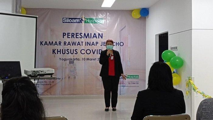 Siloam Hospitals Yogyakarta Tambah Kamarlsolasi COVID-19Bertekanan Negatif
