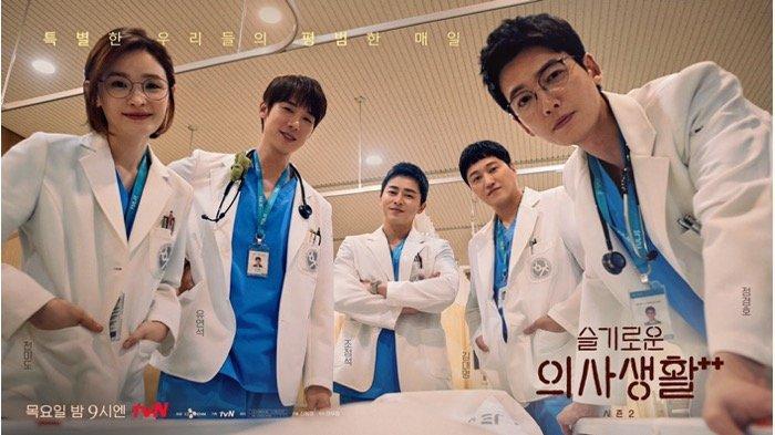 SINOPSIS Drama Korea Hospital Playlist 2 Episode 5: Ik Sun Mengidap Sirosis Hati