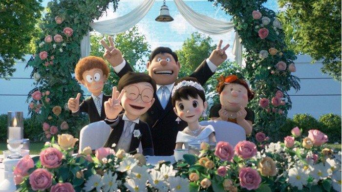 Haru, Film Stand By Me Doraemon 2 Mengisahkan Pernikahan Nobita dan Shizuka